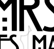 Mrs. James March Sticker
