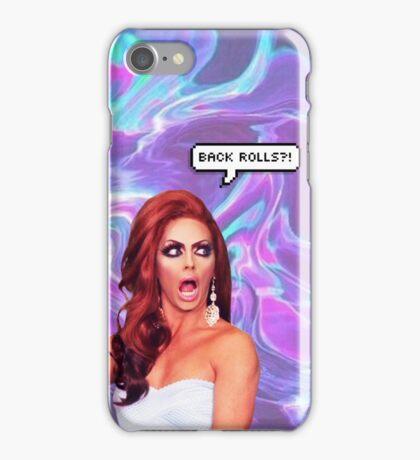 "Alyssa Edwards ""Back Rolls?!"" iPhone Case/Skin"