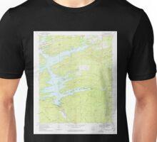 USGS TOPO Map Arkansas AR Narrows Dam 259206 1969 24000 Unisex T-Shirt