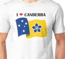 Proposed Australian Capital Terrritory (ACT) Flag - I Love Canberra Unisex T-Shirt