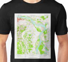 USGS TOPO Map Arkansas AR Sweet Home 259720 1961 24000 Unisex T-Shirt