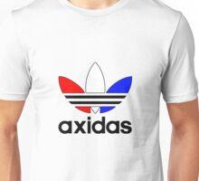 axidas red white & blue Unisex T-Shirt