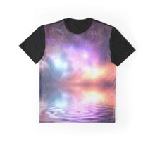 Space Water Graphic T-Shirt