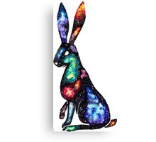 Space Hare Canvas Print