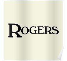 Vintage rogers (black) Poster