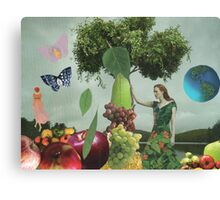 DEMETER AND PERSEPHONE Canvas Print