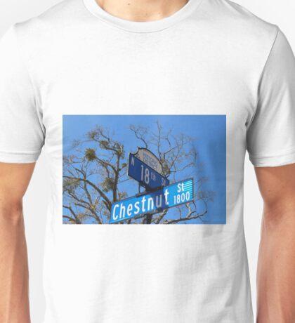 Street Signs Unisex T-Shirt