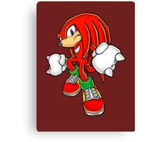 Knuckles Canvas Print