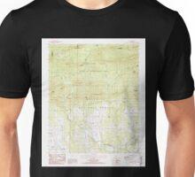 USGS TOPO Map Arkansas AR Sims 259599 1986 24000 Unisex T-Shirt