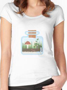 Terrarium in a Bottle Women's Fitted Scoop T-Shirt