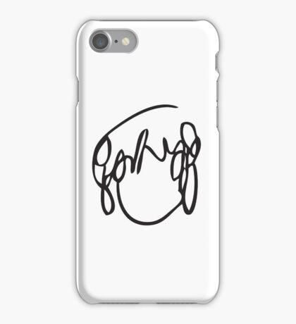 Scott Pilgrim's Ramona Scribble iPhone Case/Skin