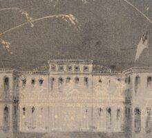 654 View of Liliendahl's final piece Sept 1st 1858 Sticker