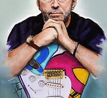 Eric Clapton by MelannieD