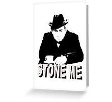 Tony Hancock - Stone Me Greeting Card