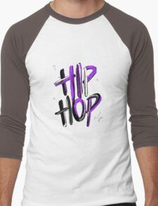 Hip Hop Men's Baseball ¾ T-Shirt