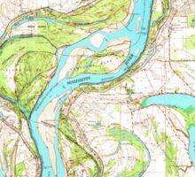 USGS TOPO Map Arkansas AR Readland 260267 1972 62500 Sticker