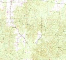 USGS TOPO Map Arkansas AR Willow 259881 1965 24000 Sticker