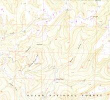 USGS TOPO Map Arkansas AR Brentwood 258058 1973 24000 Sticker