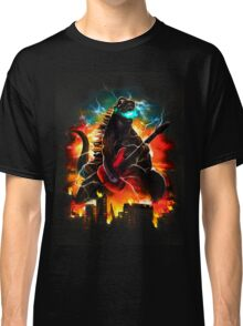 dinosaur play guitar Classic T-Shirt