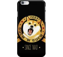 since nao iPhone Case/Skin