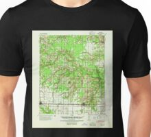 USGS TOPO Map Arkansas AR Hazen 260087 1941 62500 Unisex T-Shirt
