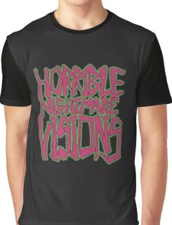 Horrible Nightmare Visions - Vintage Graphic T-Shirt