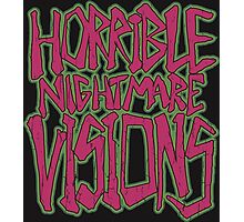 Horrible Nightmare Visions - Vintage Photographic Print