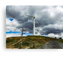 Wind Storm Canvas Print