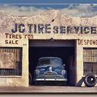 The Tire Shop by Richard  Gerhard