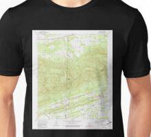 USGS TOPO Map Arkansas AR Bates 257942 1958 24000 Unisex T-Shirt