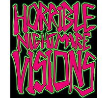 Horrible Nightmare Visions Photographic Print