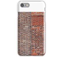 Two windows in brick wall iPhone Case/Skin