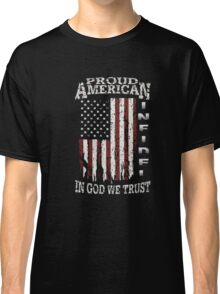 United States Proud shirt-July 4th T-Shirt independence Classic T-Shirt