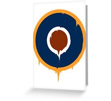 The Roundel Greeting Card