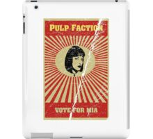 Pulp Faction - Mia iPad Case/Skin