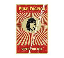 Pulp Faction - Mia Photographic Print