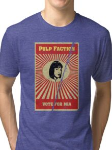 Pulp Faction - Mia Tri-blend T-Shirt