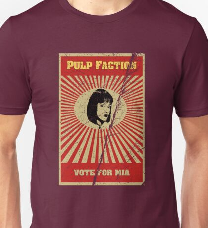 Pulp Faction - Mia Unisex T-Shirt