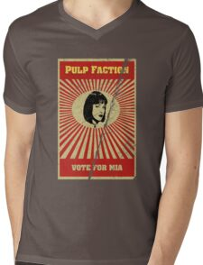 Pulp Faction - Mia Mens V-Neck T-Shirt