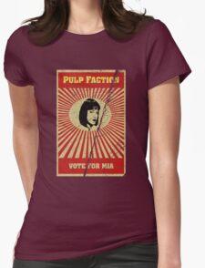 Pulp Faction - Mia Womens T-Shirt