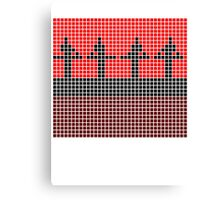 PIXEL8 | Power Station | Red Stage Canvas Print