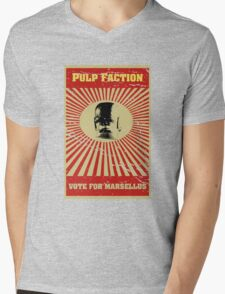 Pulp Faction - Marsellus Mens V-Neck T-Shirt