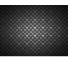 Kingdom Hearts pattern (grey) Photographic Print