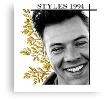 Harry Styles (One Direction)  Canvas Print