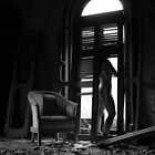 Satori- Self Portrait Abandoned Mansion, NY by kailani carlson