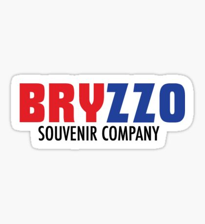Bryzzo Souvenir Co Sticker