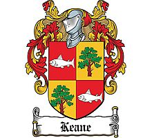 Keane Coat of Arms (Clare, Ireland) Photographic Print