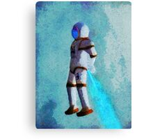 Space Jumping Canvas Print
