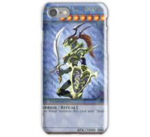 Black luster soldier iPhone Case/Skin