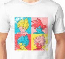 Saiyan Warhol Unisex T-Shirt